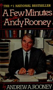 Cover of: A few minutes with Andy Rooney | Andrew A. Rooney