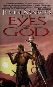 Cover of: The eyes of God | John Marco