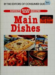 Cover of: Favorite brand name recipes | Consumer Guide