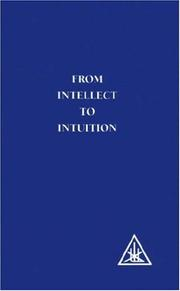 Cover of: From Intellect to Intuition