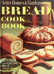 Cover of: Bread cook book |