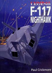 Cover of: F-117 Nighthawk by Paul Crickmore