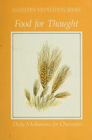 Cover of: Food for thought |