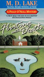 Cover of: Flirting with death | M. D. Lake