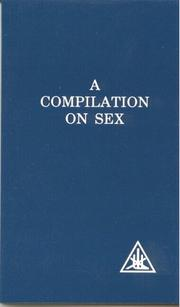 Cover of: A Compilation on Sex
