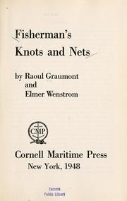 Fisherman's knots and nets