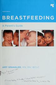 Cover of: Breastfeeding | Amy Spangler