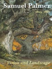 Cover of: Samuel Palmer, 1805-1881: vision and landscape