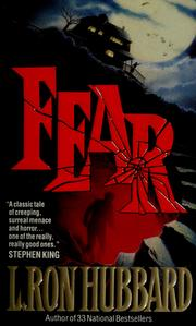 Cover of: Fear | L. Ron Hubbard
