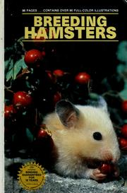 Cover of: Breeding hamsters | Marshall Ostrow