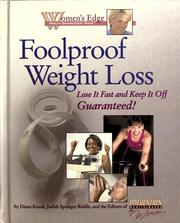 Cover of: Foolproof weight loss |