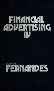 Cover of: Financial advertising IV | Richard L. Fernandes