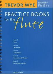Cover of: Practice Books For The Flute |