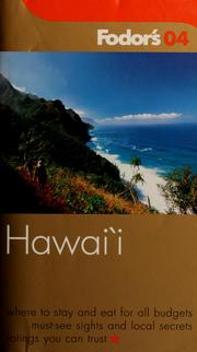 Cover of: Fodor's Hawaii 04 |