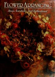 Cover of: Flower arranging | Jane Newdick