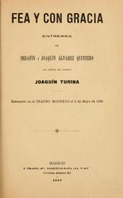Cover of: Fea y con gracia by Joaquín Turina