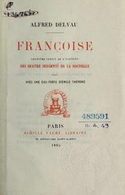 Cover of: Françoise by Delvau, Alfred