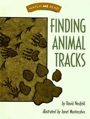 Cover of: Finding animal tracks | David Neufeld