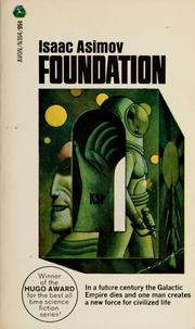 Cover of the 1966 Avon edition of Foundation