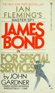 Cover of: For special services | John Gardner
