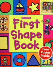 Cover of: First shape book | Ann Montague-Smith