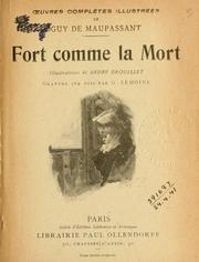 Cover of: Fort comme la mort