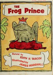 Cover of: The frog prince | Edith Tarcov