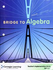 Cover of: Bridge to algebra : student text |