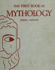 Cover of: The first book of mythology, Greek-Roman by Kathleen Elgin