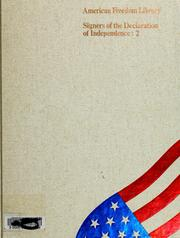 Cover of: Founders of freedom in America | David C. Whitney