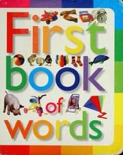 Cover of: First book of words | Neil Morris