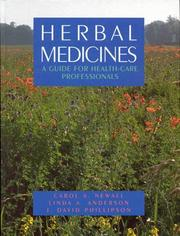 Cover of: Herbal medicines