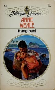 Cover of: Frangipani | Anne Weale