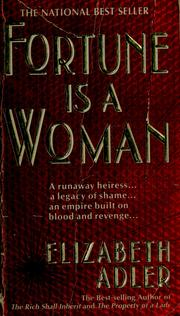 Cover of: Fortune is a woman | Elizabeth Adler