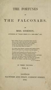 Cover of: The fortunes of the Falconars | Gordon Mrs.