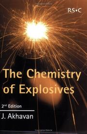 Cover of: The Chemistry of Explosives | J. Akhavan