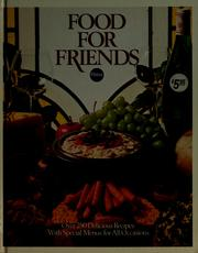 Cover of: Food for Friends | Catharine P. Smith