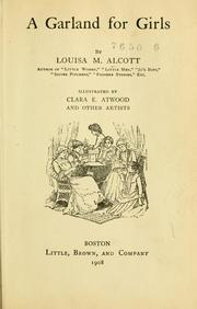 Cover of: A garland for girls | Louisa May Alcott