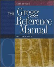 The Gregg Reference Manual by William A. Sabin
