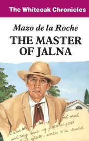 Cover of: Master of Jalna