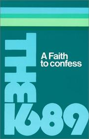 Cover of: A Faith to Confess | S. M. Houghton