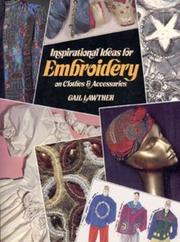 Cover of: Inspirational Ideas for Embroidery on Clothes & Accessories