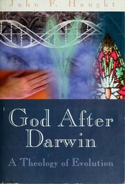 Cover of: God after Darwin | John F. Haught