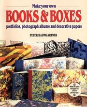 Cover of: Make Your Own Books and Boxes