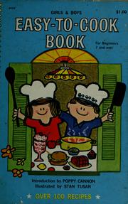 Girls & boys easy-to-cook book