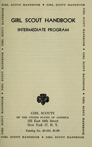 Cover of: Girl Scout handbook | Girl Scouts of the United States of America.