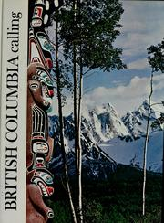 Cover of: British Columbia calling | Ted Czolowski