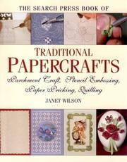Cover of: The Search Press Book of Traditional Papercrafts