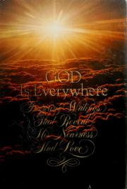 Cover of: God is everywhere | Harold Whaley