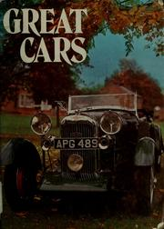 Cover of: Great cars | Boddy, William